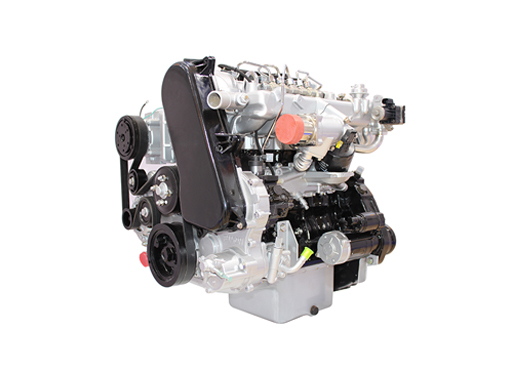 D25 electric control high pressure common rail engine